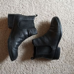 cole haan leather chelsea boots